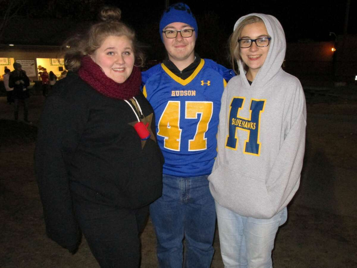 Were you Seen at the Section II Class B Super Bowl game with Hudson vs. Glens Falls at Shenendehowa High School in Clifton Park onFriday, Nov. 4, 2016?