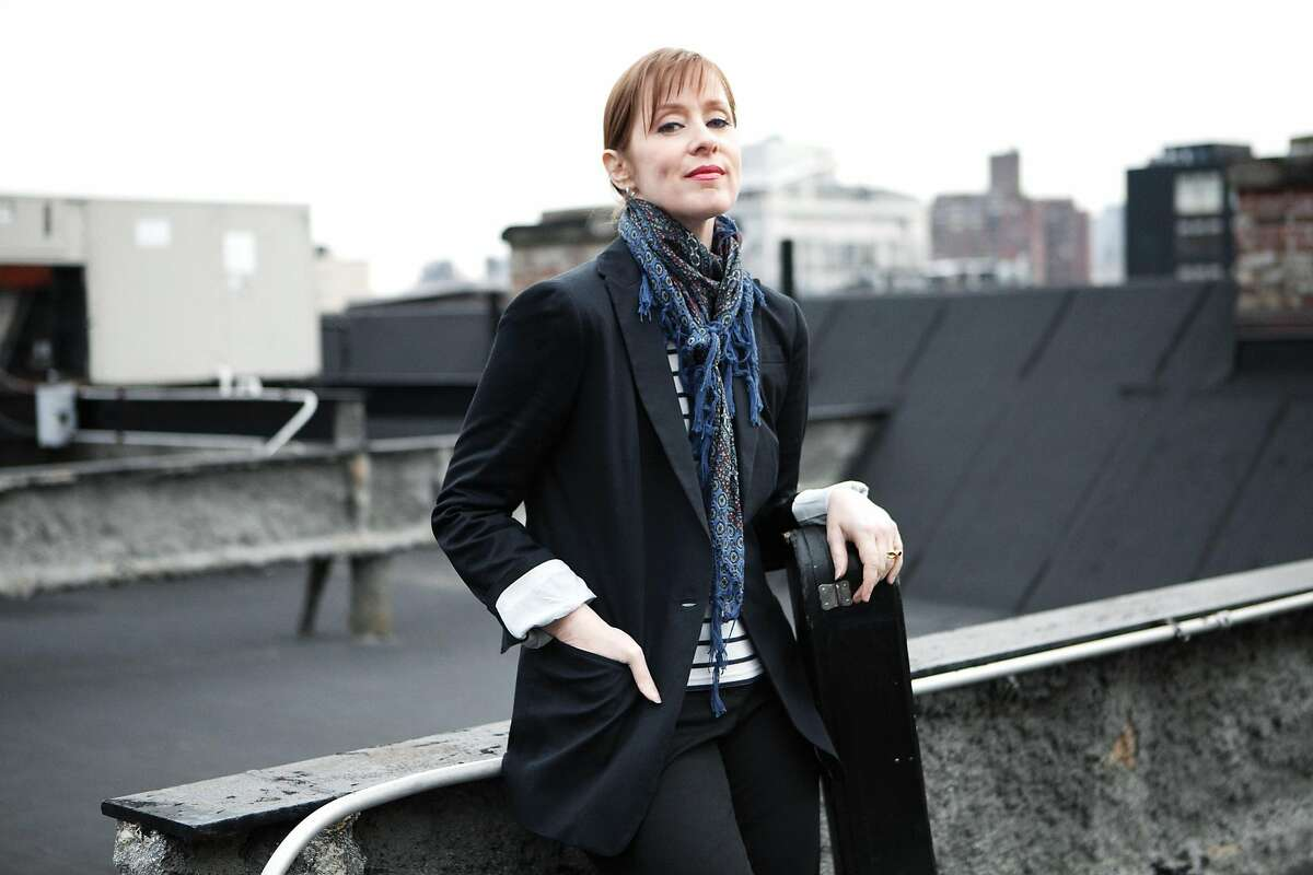 Suzanne Vega performs on Feb. 18 at the City Winery in Napa.
