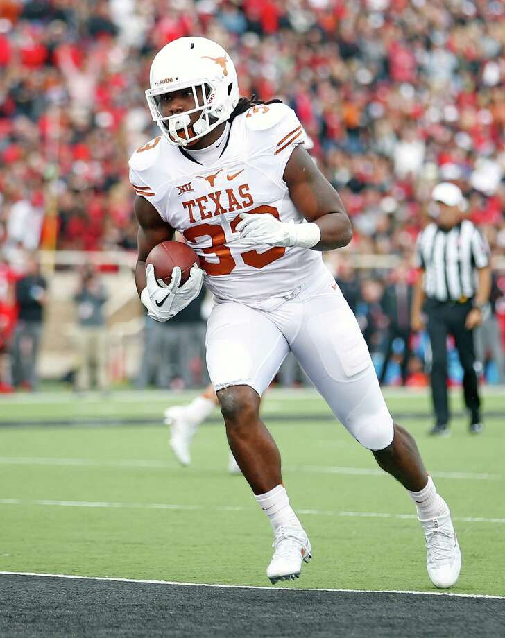 The Texans drafted University of Texas running back D'Onta Foreman with the 89th overall selection in the third round of the 2017 NFL Draft. Photo: Brad Tollefson, Associated Press / Lubbock Avalanche-Journal