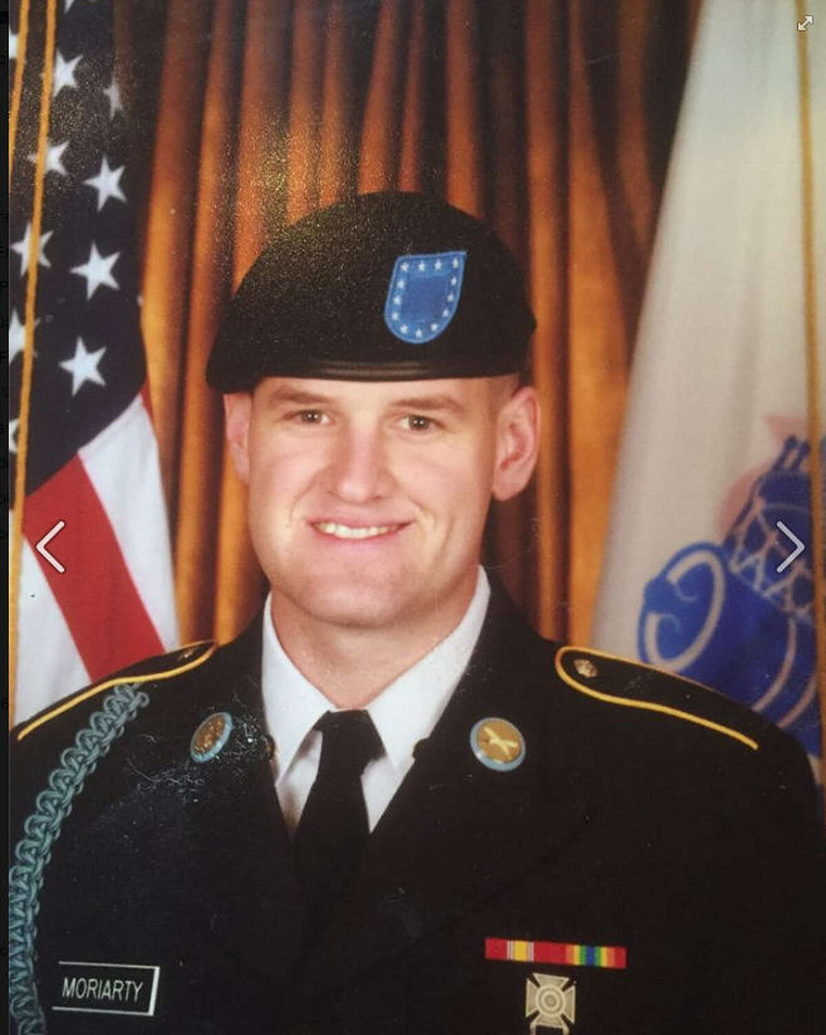 """James """"Jimmy"""" Moriarty of Houston was one of three Americans killed in an attack on a military base in Jordan on Friday, Nov. 4, 2016."""