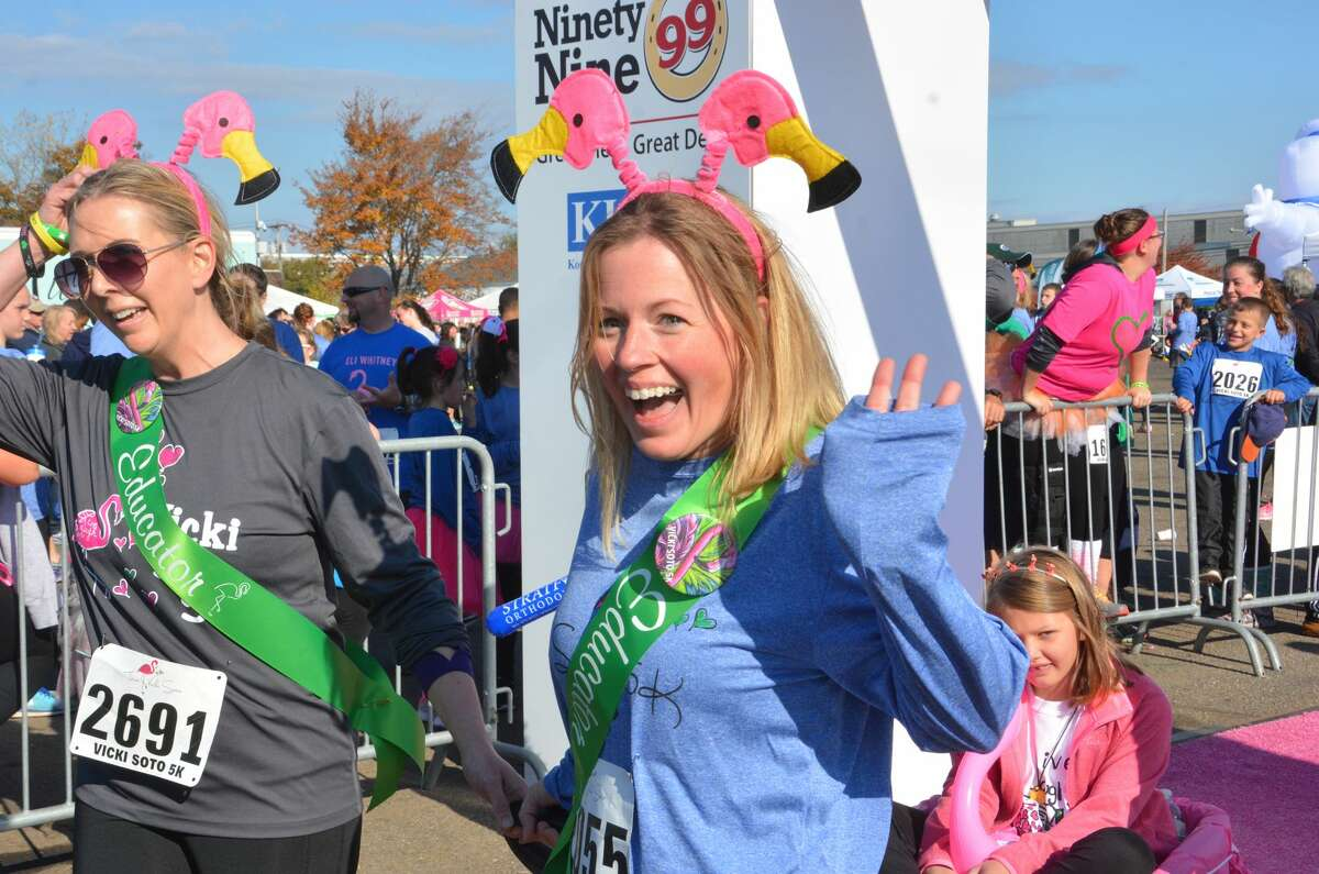 The fourth annual Vicki Soto 5K honoring the teacher killed in the Sandy Hook shooting was held in Soto's hometown of Stratford on November 5, 2016. Proceeds from the race go to the Vicki Soto Memorial Fund, which supports students pursuing a career in education. Were you SEEN?