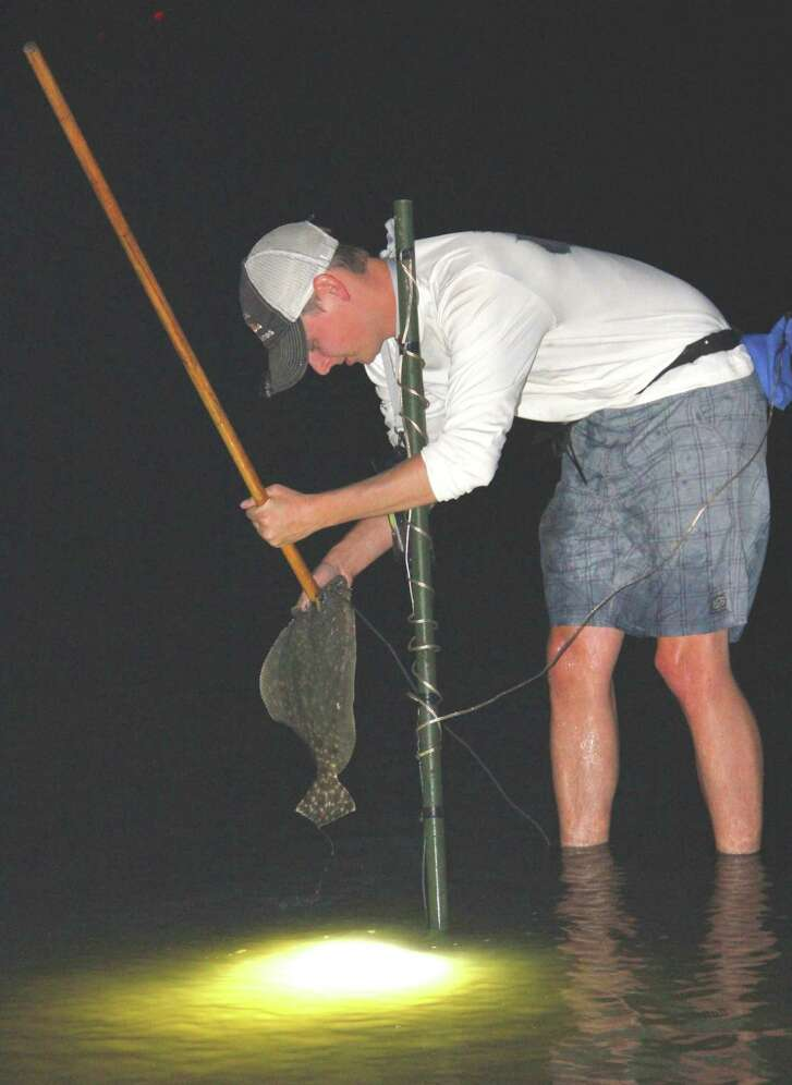 Because flounder are particularly vulnerable during their fall migration from bays to Gulf of Mexico, Texas prohibits gigging the fish during November and imposes a two-flounder daily limit from Nov. 1 to Dec. 14.