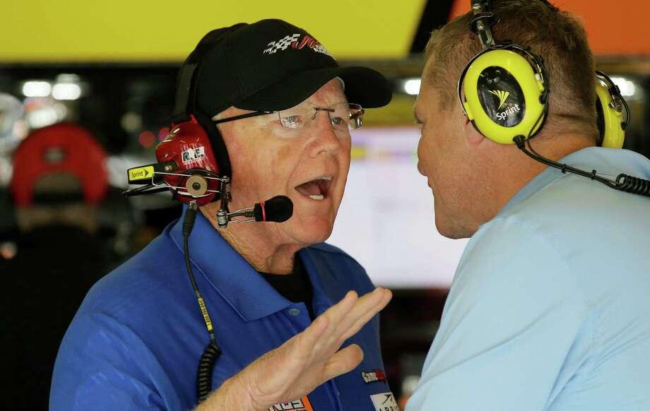 AUTO RACING: Joe Gibbs quartet still pushing for Sprint Cup