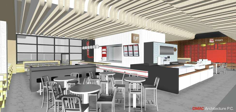 Rendering showing one of the new eateries at Rivers Casino & Resort Schenectady. (Provided)