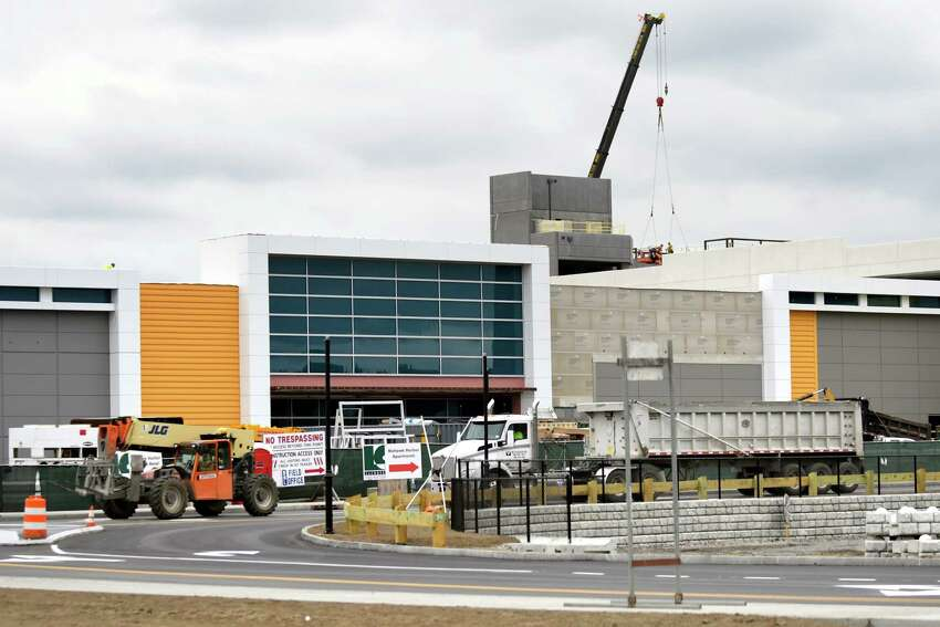 Rivers Casino under construction on Tuesday, Oct. 4, 2016, in Schenectady, N.Y. (Cindy Schultz / Times Union)