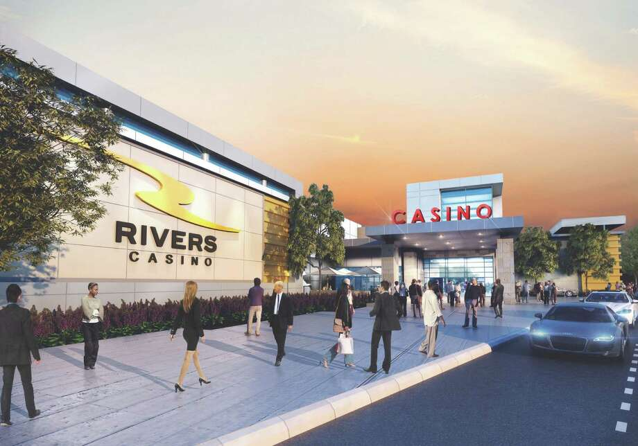 New exterior rendering of the Rivers Casino & Resort Schenectady, submitted on March 16, 2015. (Provided)