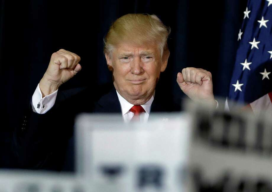 AP: Donald Trump wins Texas' 38 electoral votes. Photo: Chris O'Meara, STF / Copyright 2016 The Associated Press. All rights reserved.