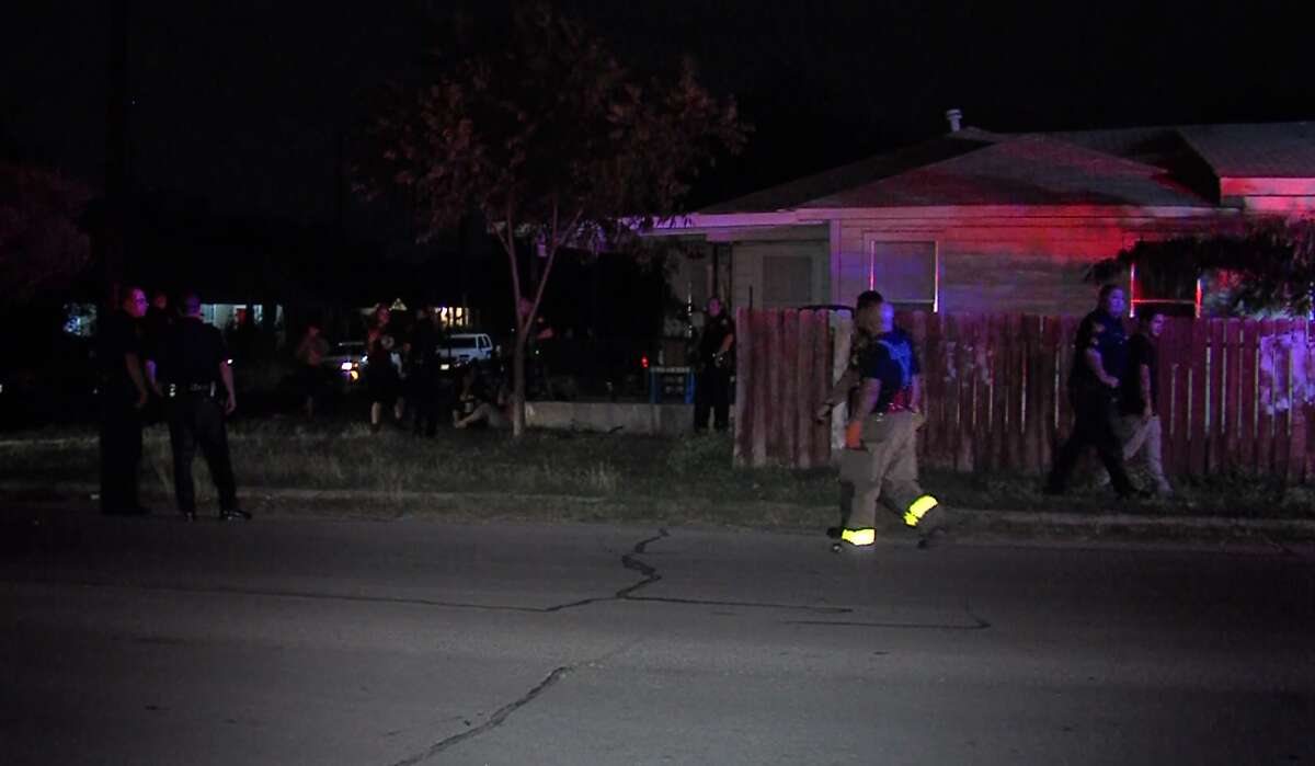 San Antonio police are seeking a suspect in a shooting that sent one man to the hospital Sunday morning, Nov. 6, 2016, on the West Side.