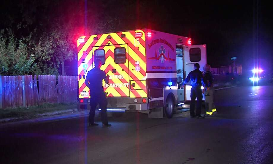 San Antonio police are seeking a suspect in a shooting that sent one man to the hospital Sunday morning, Nov. 6, 2016, on the West Side. Photo: Pro 21 Video