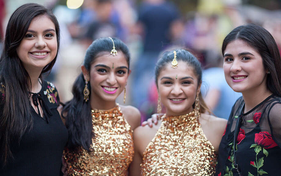 Diwali San Antonio lit up downtown as the annual Hindu festival of lights was celebrated at La Villita Saturday, Nov. 5, 2016 Photo: By B Kay Richter, For MySA