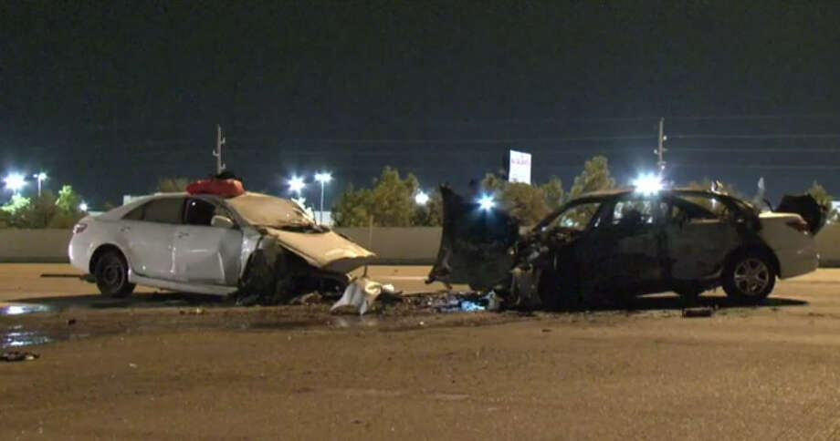 One Person Was Killed In A Head On Crash On Katy Freeway P O