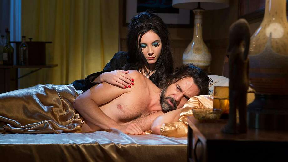 """Samantha Robinson and Jeffrey Vincent Parise star in """"The Love Witch"""" Photo: Oscilloscope"""