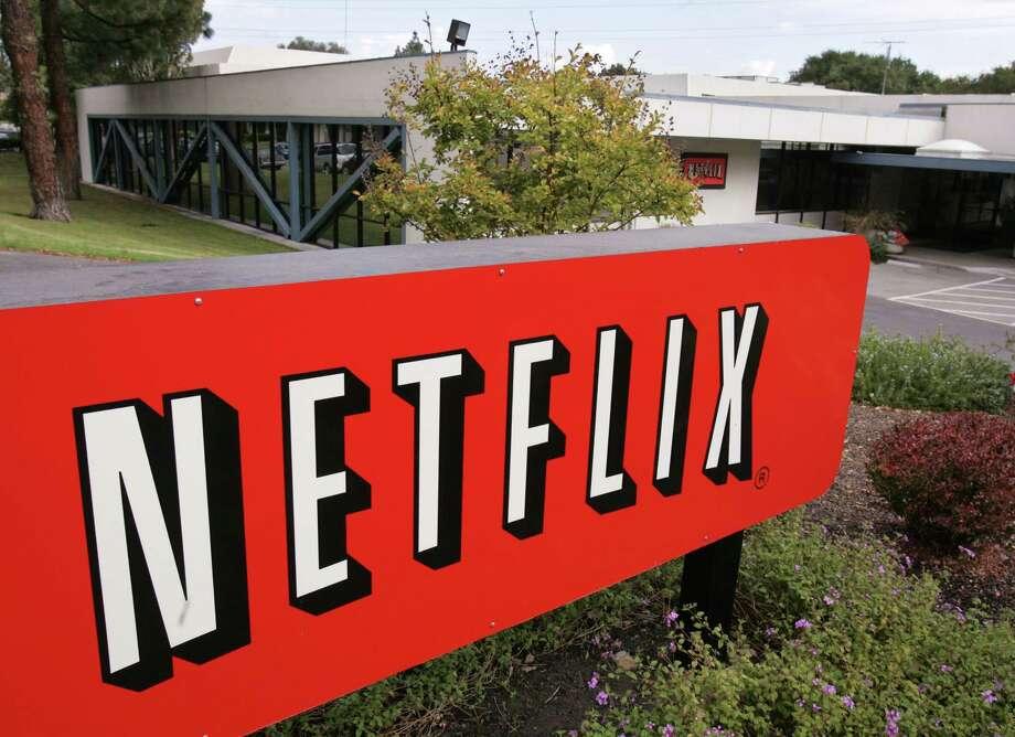 The Netflix Inc. headquarters in Los Gatos, Calif., is shown Wednesday, Oct. 19, 2005. Netflix reports quarterly result after the market's close Wednesday. (AP Photo/Paul Sakuma) Photo: PAUL SAKUMA, Staff / AP