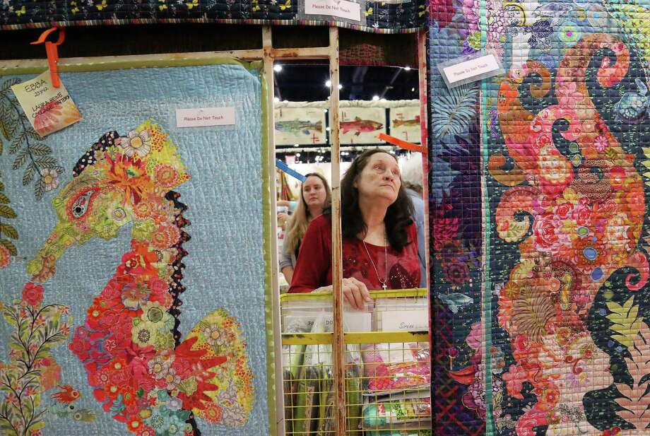 November 2-5:Get wrapped up in theInternational Quilt Festival in Houstonall weekend long. The festival will feature more than 1,600 quilts and textile works of art. Tickets start at $9. Photo: Yi-Chin Lee, Staff / © 2016  Houston Chronicle