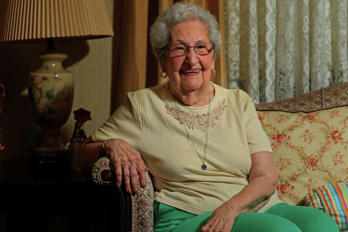 Portrait of recent voter Julia Garcia Medina, 102, at her home Friday Nov. 4, 2016.