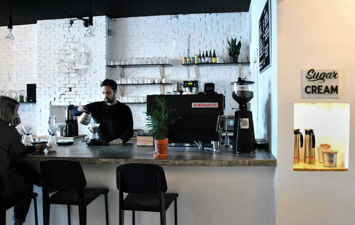 Superior Merchandise Co in Troy is a specialty coffee bar and design shop that sells well-designed goods from a variety of national and international artists and makers.