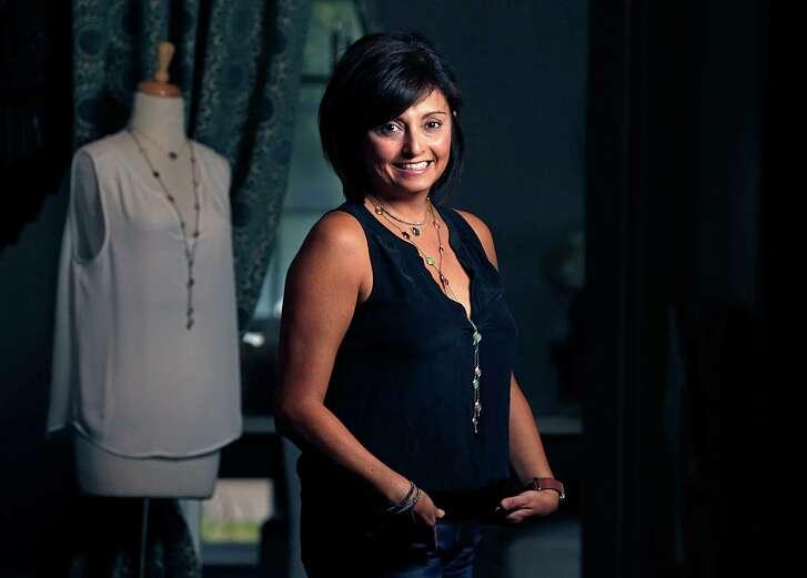 Jewelry designer Mirta Tummino poses for aportrait Nov. 1, 2016, in Houston. ( James Nielsen / Houston Chronicle )