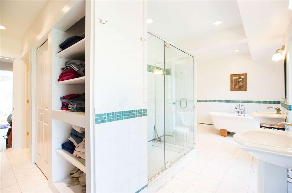 Click through the slideshow to take a tour of a few homes for sale, and be sure to check out what they've done with the bathrooms.