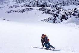 Photo: Brennan Lagasse  Skier: Toby Schwindt  Location: Mt. Shasta, CA