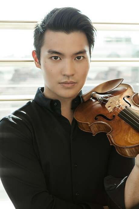 Violinist Ray Chen hit all the required marks. Photo: Julian Hargreaves