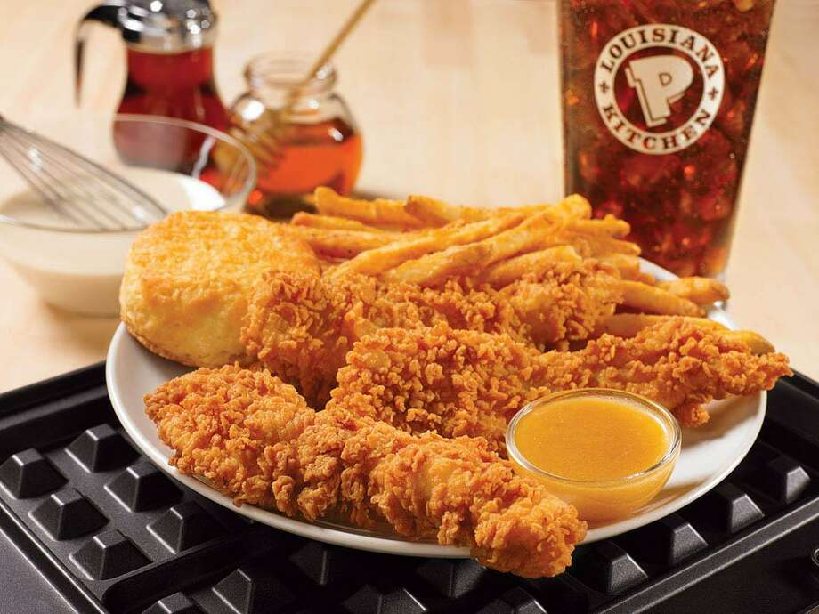 A promotional photo of fare from Popeyes Louisiana Kitchen. Photo: /