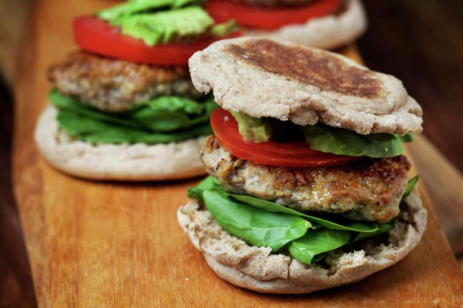 Homemade Turkey Sausage Breakfast Sandwiches are a savory start for your day. Photo: Deb Lindsey / For The Washington Post