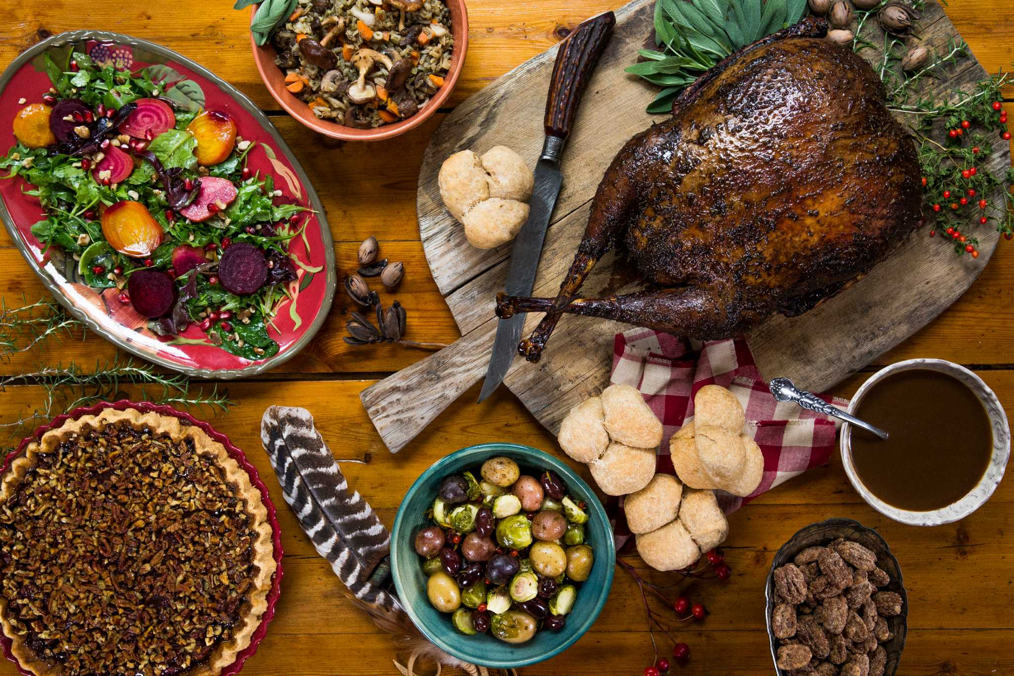 Thanksgiving to-go dishes from Houston restaurants and bakeries ...