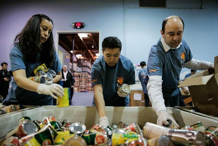 Tech Companies Rally Behind Bay Area Food Bank Sfgate