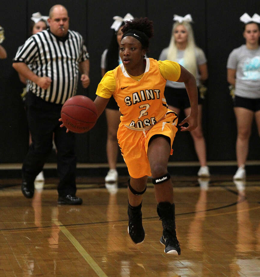 Taylor Nazon of the Saint Rose women's basketball team. (Saint Rose sports information) Photo: Eugene DeVillamil / All Rights Reserved
