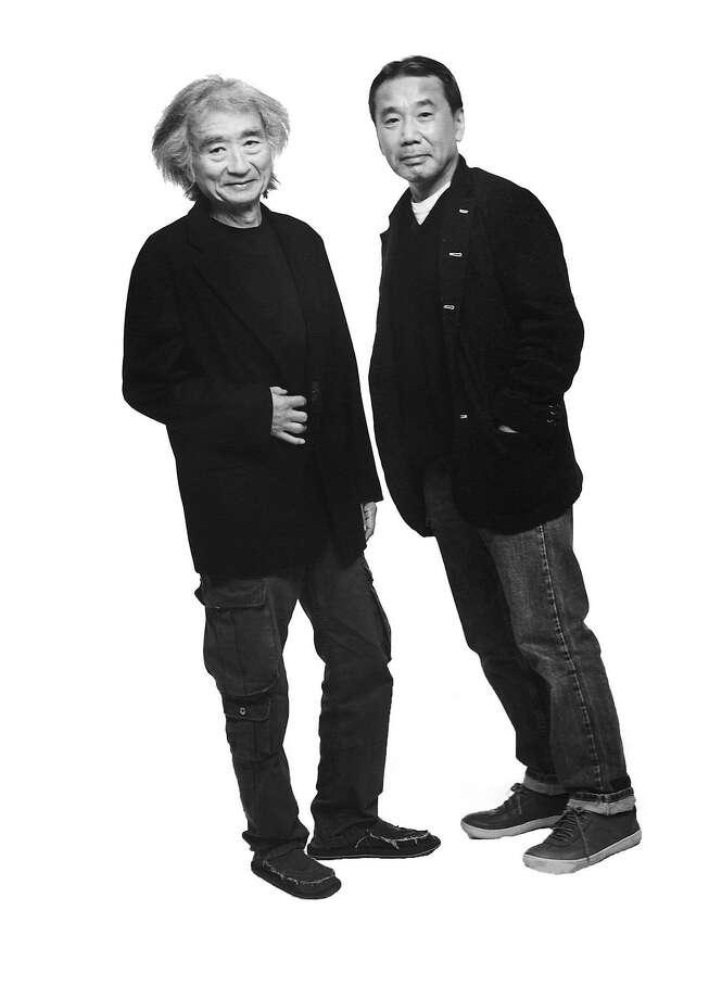 Seiji Ozawa and Haruki Murakami Photo: Nobuyoshi Araki
