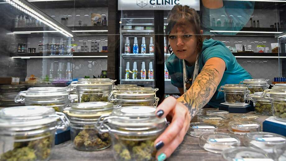 The Clinic, one of the larger marijuana retailers in Denver. Photo: John Leyba/The Denver Post Via Getty Images