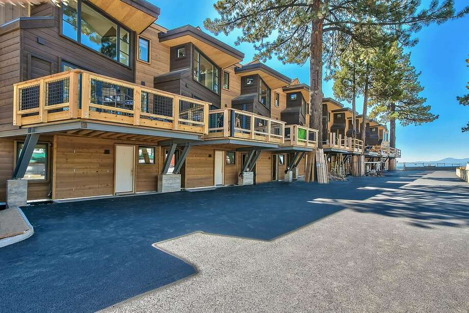 8308 N. Lake Blvd., Unit 5, is a one of 10 newly built luxury condos atop Lake Tahoe's Kings Beach.