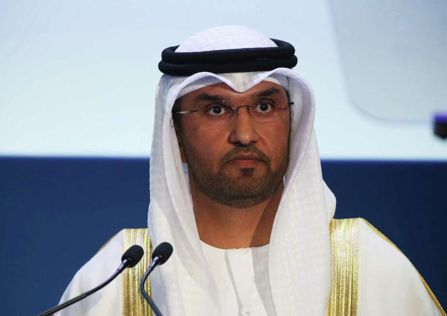 Sultan Ahmed al-Jaber, director of the Abu Dhabi National Oil Co. and Emirati minister of state. (AP Photo/Jon Gambrell) Photo: Jon Gambrell, STF / Copyright 2016 The Associated Press. All rights reserved.