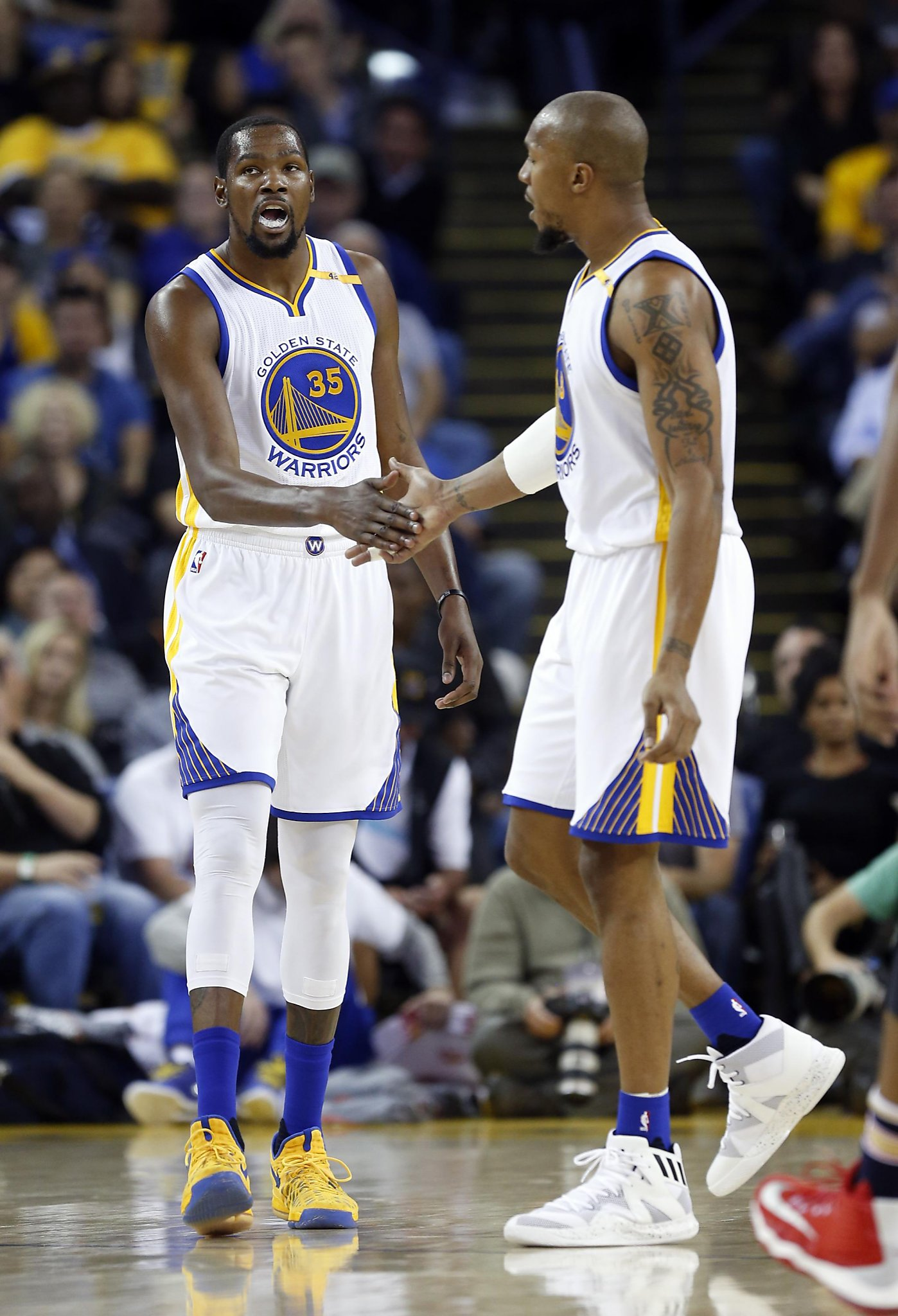5b8b393cd7f0 David West believes Kevin Durant will re-sign with the Warriors in 2019 -  SFChronicle.com