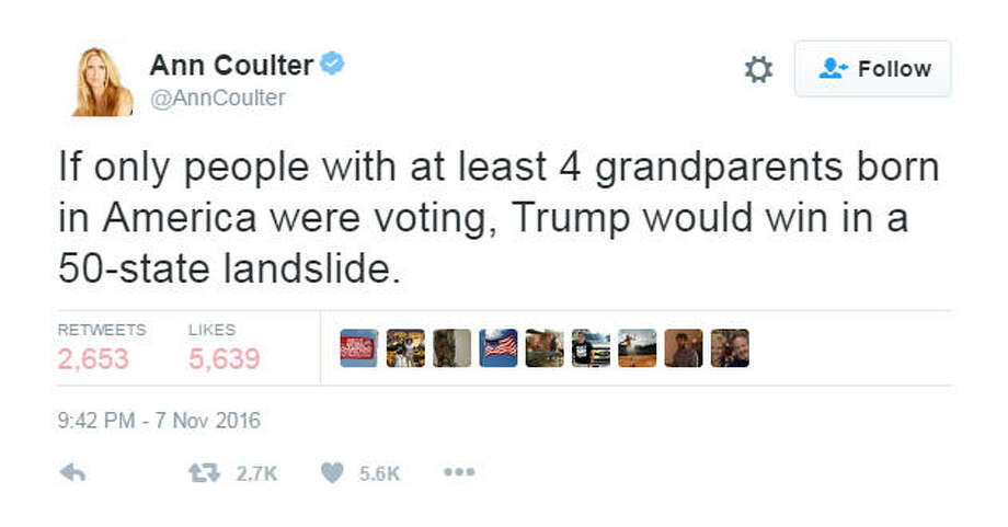 Photo: @AnnCoulter Twitter