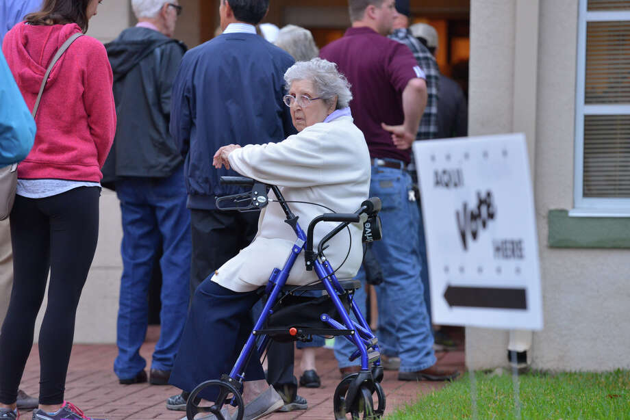 Click through the slideshow to see the polling sites with the most amount of voters.