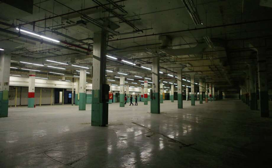 The massive spaces inside the former Barbara Jordan Post Office building are being renovated, Monday, Nov. 7, 2016, in Houston. With two stages outside and art installations filling much of the inside, the space will host this year's Day for Night festival. Photo: Mark Mulligan, Houston Chronicle / © 2016 Houston Chronicle