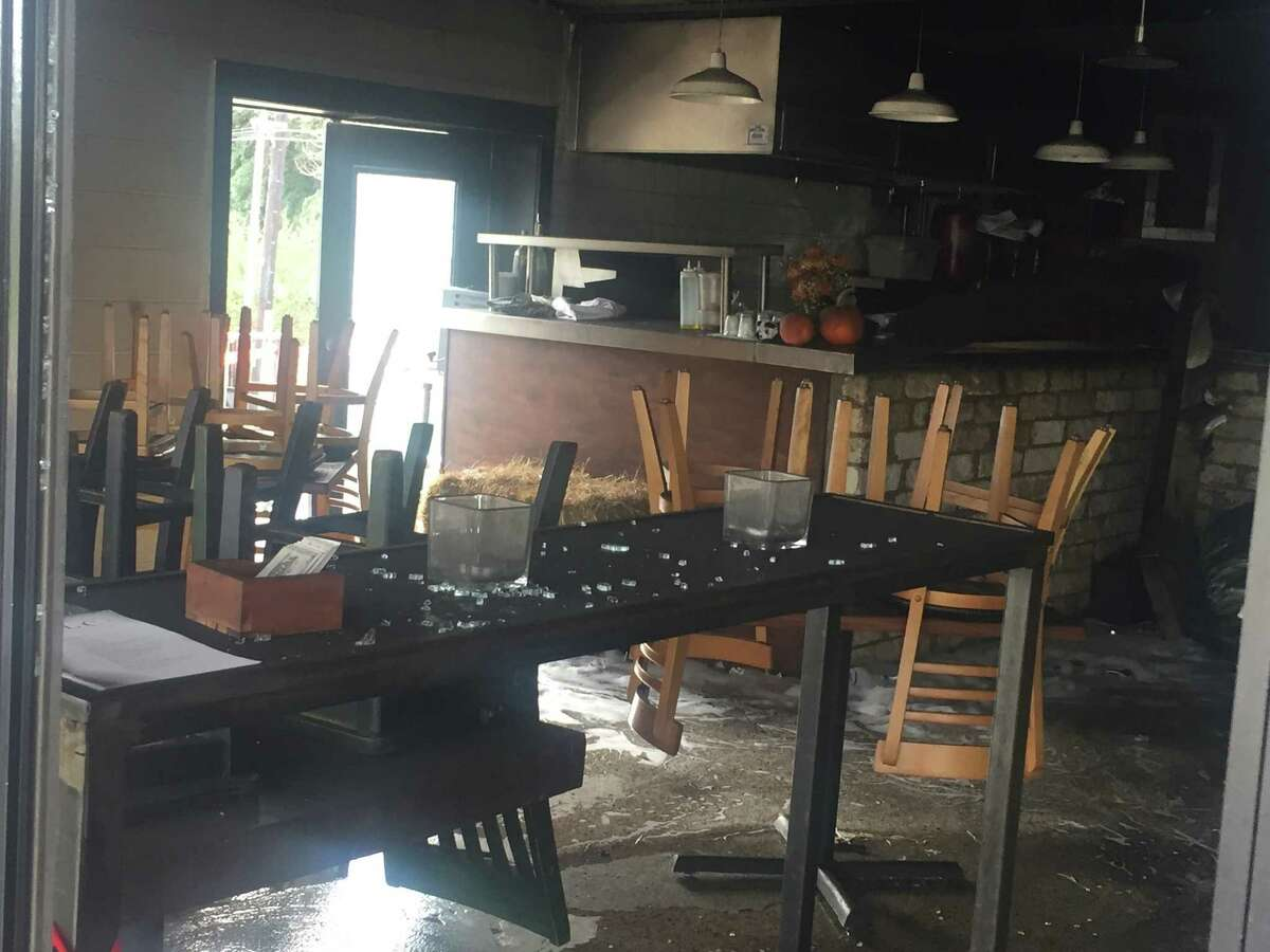 Folc, a restaurant in Olmos Park, sustained heavy damage from a fire on Nov. 8, 2016. The owner, Luis Colon, is unsure when the restaurant will open for business following the blaze.