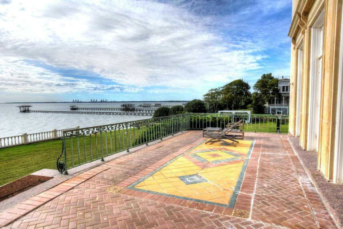 The Sterling Mansion on the shores of Galveston Bay, 515 Bayridge.