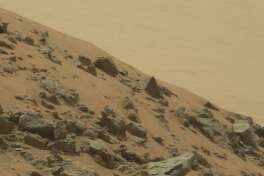 … obviously that's a pyramid build by aliens … on Mars!