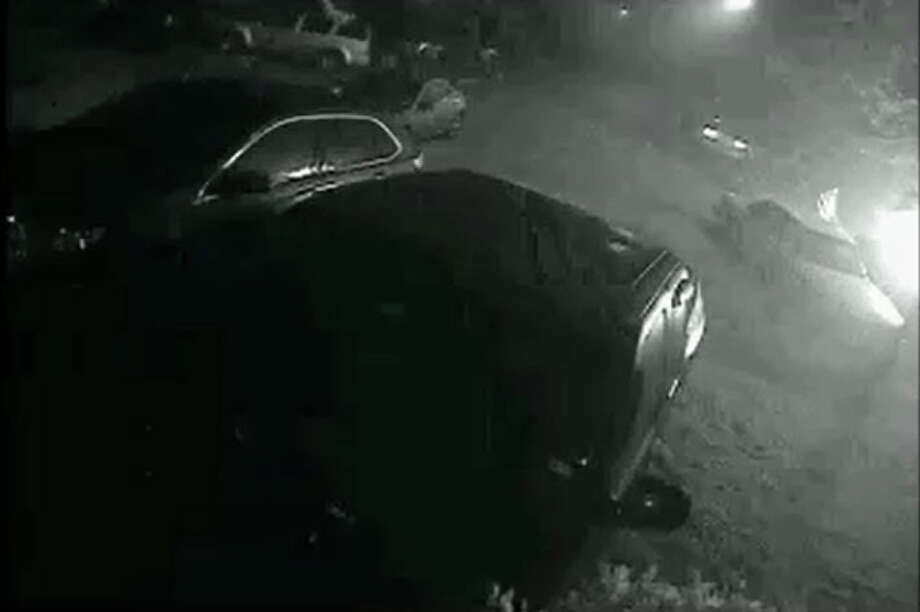 The Harris County Fire Marshal's Office is looking for the person or persons who reportedly set a vehicle on fire in the 1300 block of Beaufort Sea Drive on Oct. 30. Photo: Harris County Fire Marshal's Office