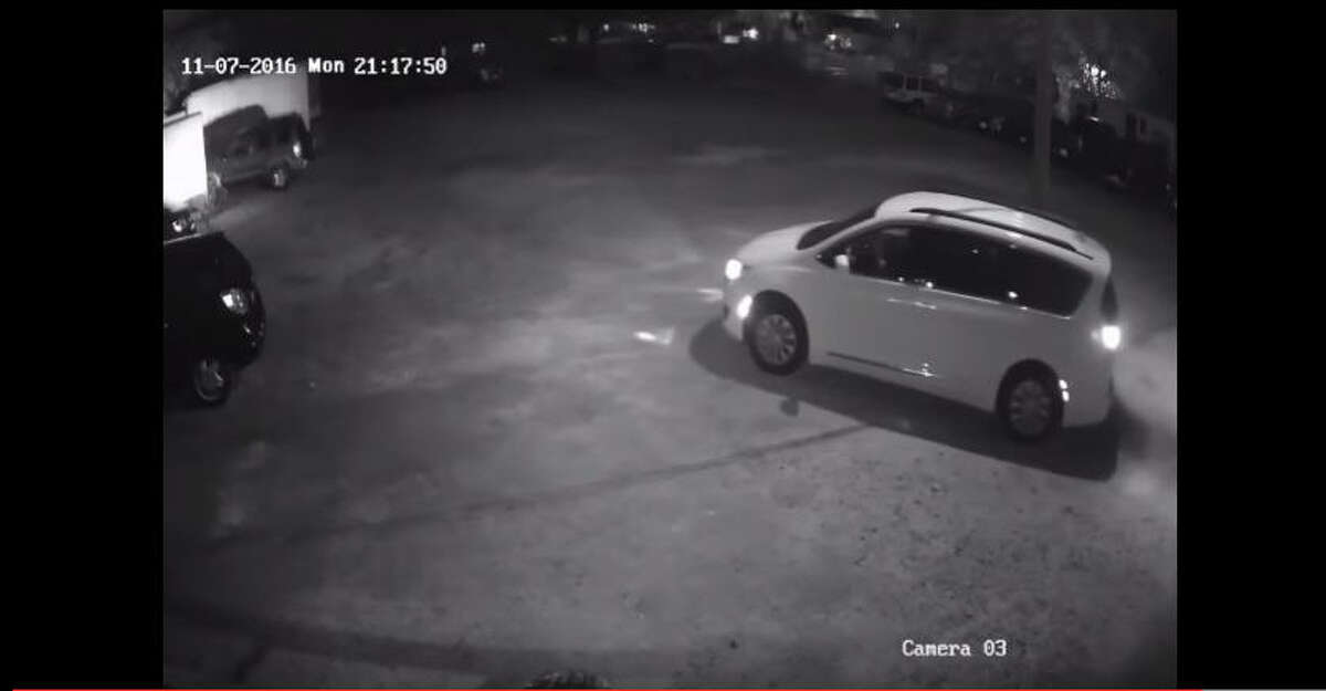 Authorities have released surveillance images of a fatal shooting during a robbery at a game room about 8:30 p.m. Sunday, Nov. 6, 2016, in the 500 block of Dale in north Harris County. (Harris County Sheriff's Office)
