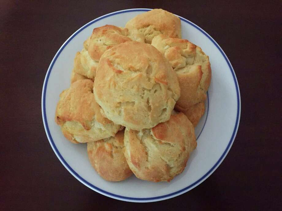 Serious Biscuits from Seattle-based chef Tom Douglas Photo: Edmund Tijerina /San Antonio Express-News