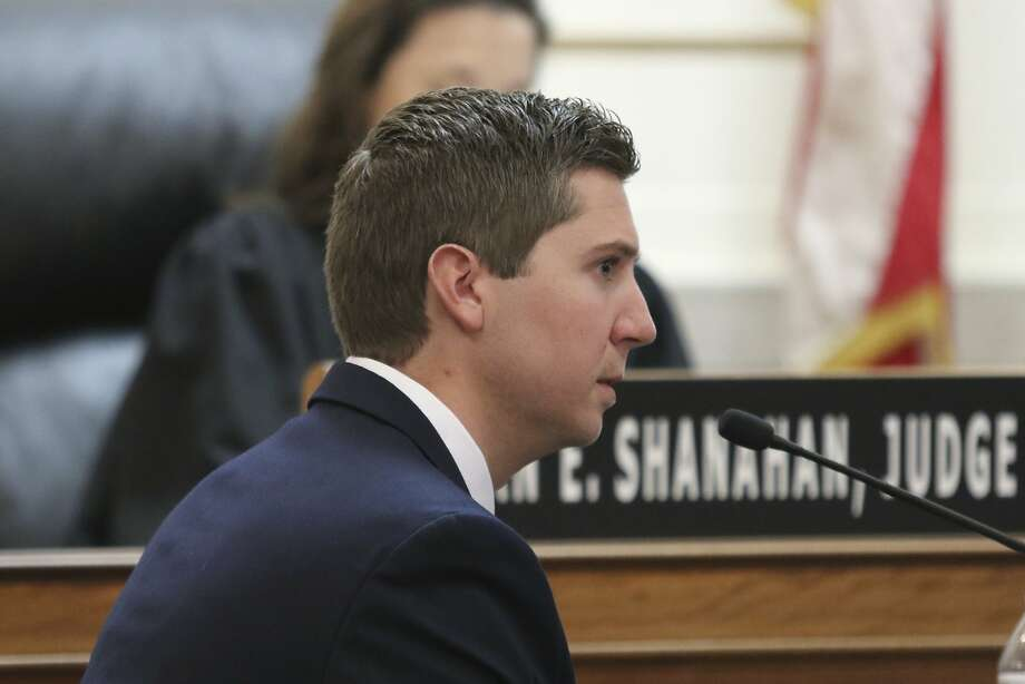 Ray Tensing, a former University of Cincinnati police officer, faces charges of murder and voluntary manslaughter in the 2015 shooting death of Sam DuBose during a routine traffic stop. Photo: Cara Owsley, Associated Press