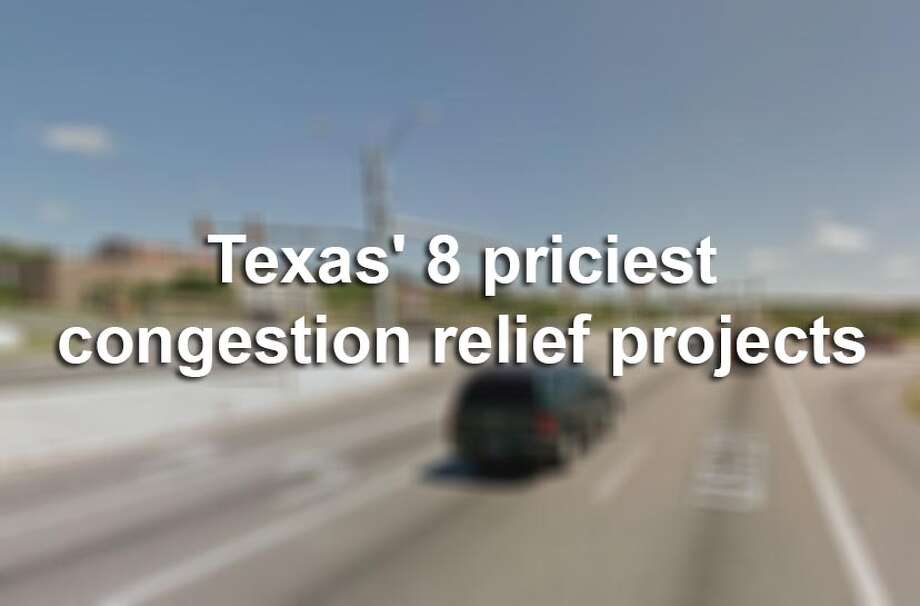 The Texas Transportation Commission approved $1.3 billion for 14 congestion relief projects in February 2016.Here are 8 massive traffic relief projects that were approved in Texas' biggest cities. Photo: File