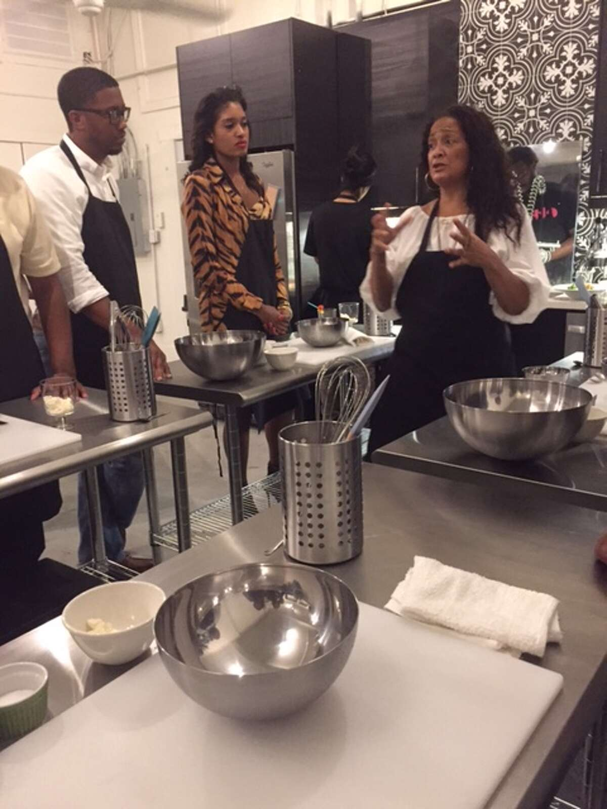 Black Restaurant Week's Kulinary Konverations at Etta's Little Kitchen on Dowling with Chef Shakti Baum.