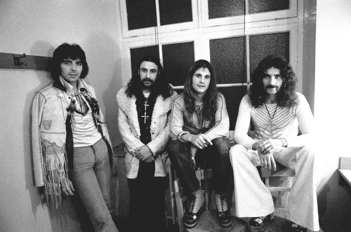 ARCHIVE PHOTOS OF SAN ANTONIO AND BLACK SABBATH THROUGH THE YEARS:March 28, 1971, Municipal Auditorium:Black Sabbath's first San Antonio concert, with Mountain as openers, was played that year. It was a dream date between