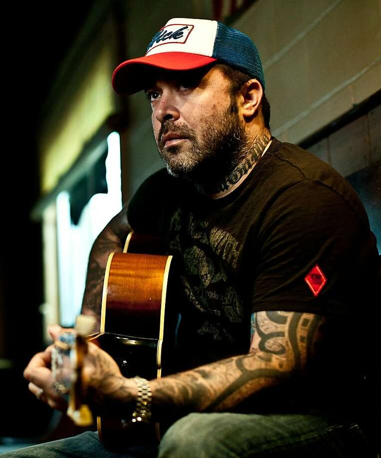 """Staind frontman Aaron Lewis is touring in support of his first full-length country album, """"The Road,"""" with a show planned for Saturday night, Jan. 26, at the Mohegan Sun Arena. Photo: Contributed Photo"""