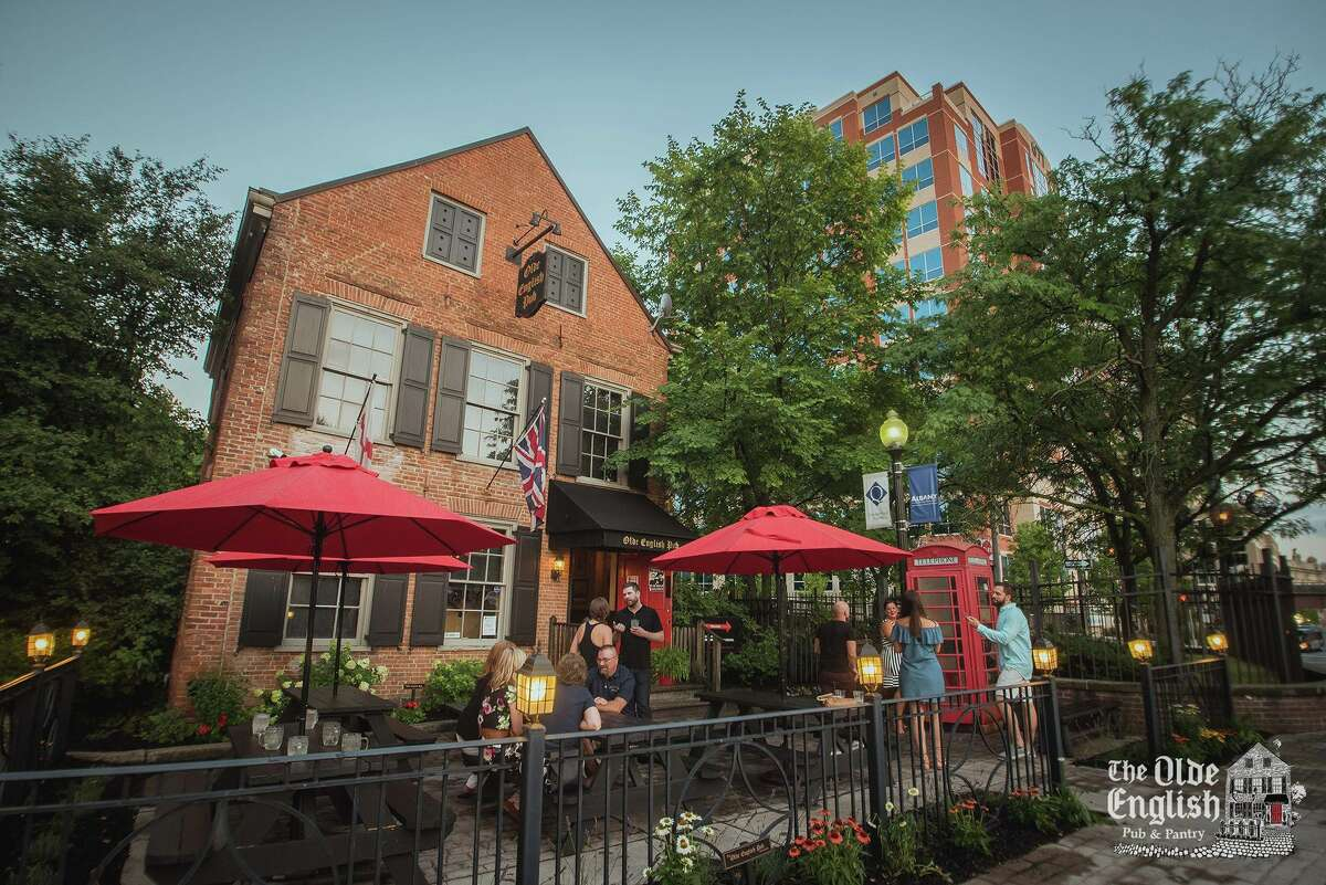 The Olde English Pub & Pantry in Albany serves British beers and food in a casual English-style pub.