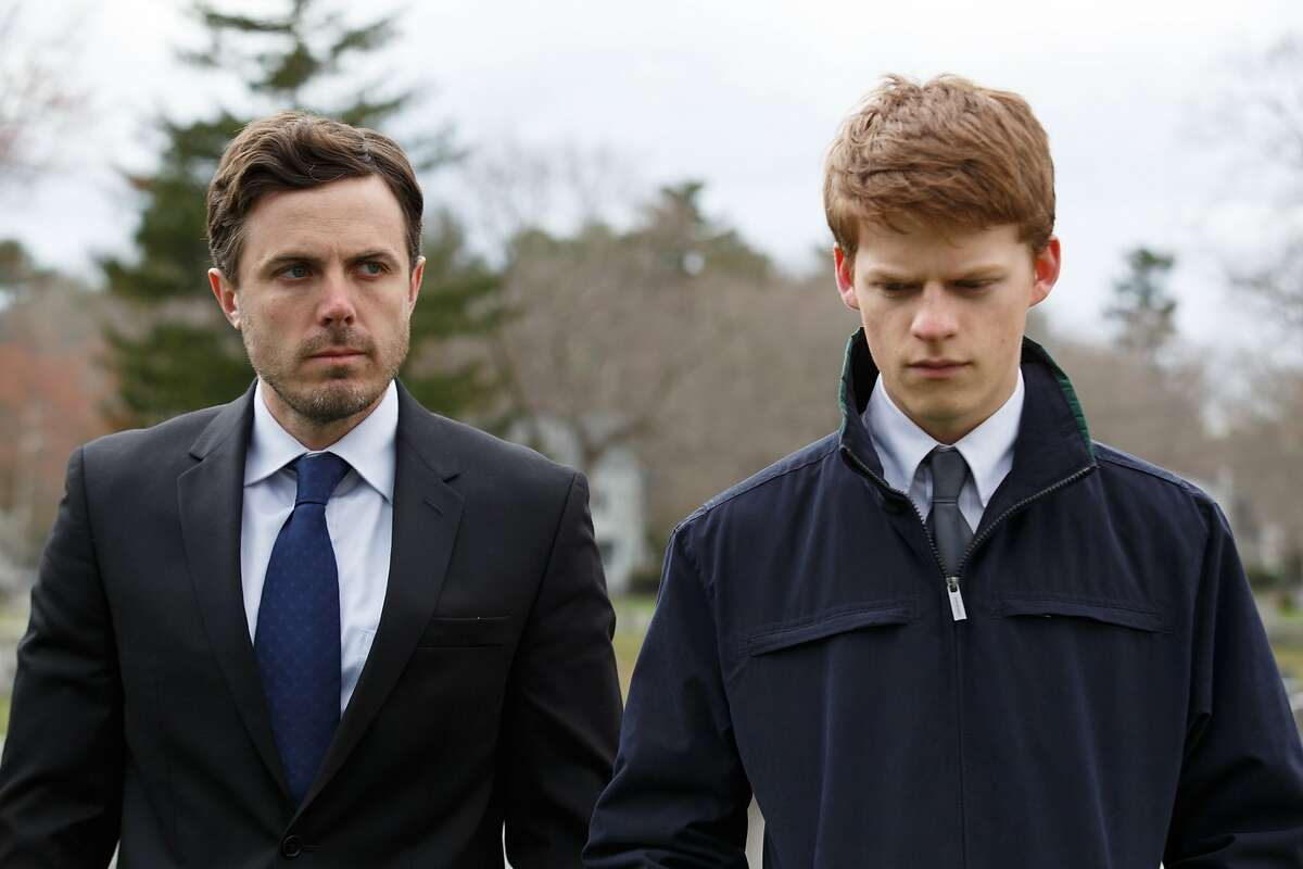 """L-R: Casey Affleck as Lee and Lucas Hedges as Patrick in a scene from """"Manchester by the Sea,"""" opening at Bay Area theaters on Friday, Nov. 25. Photo by Claire Folger, courtesy of Amazon Studios and Roadside Attractions."""